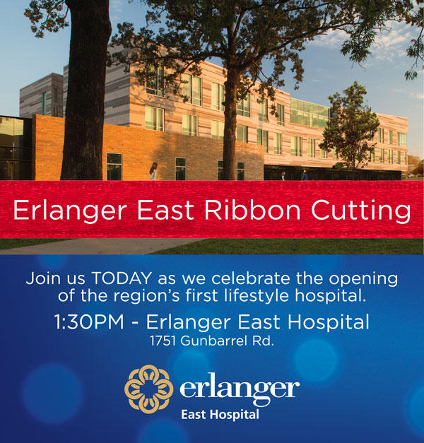 Erlanger East ribbon cutting