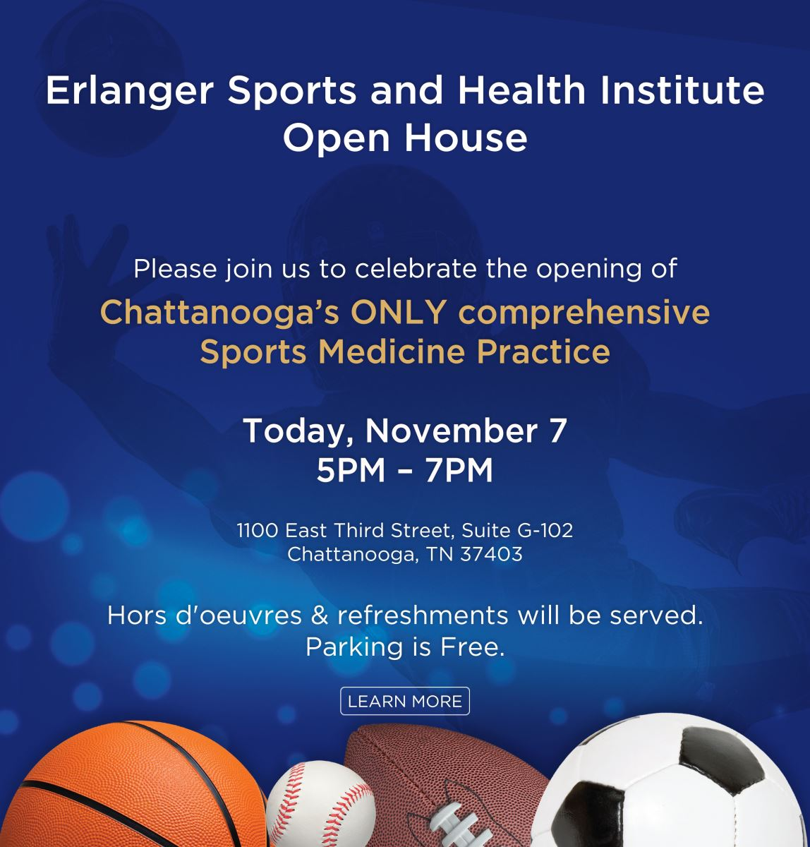 Erlanger Sports and Health Institute Open House